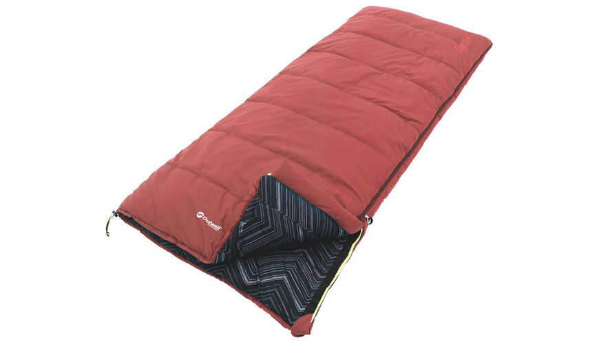 Outwell Courtier Sleeping Bag red